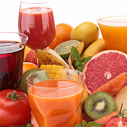 Frutta, succhi e smoothies